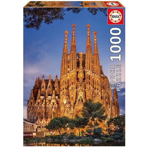 Educa pussel: Sagrada Familia - 1000 bitar