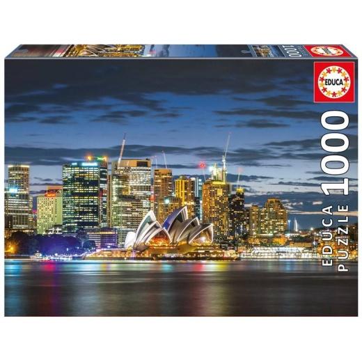 Educa pussel: Sydney City Twilight 1000 bitar