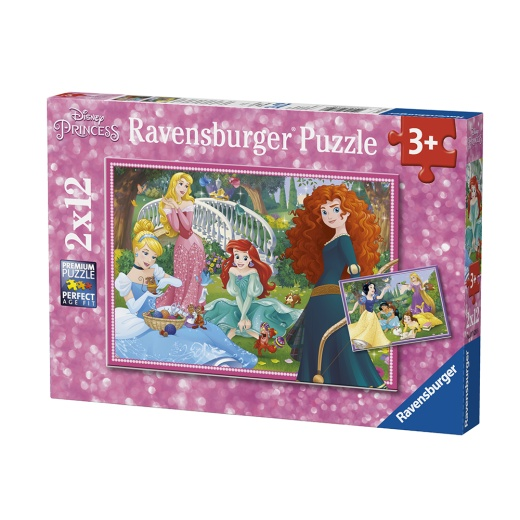 Ravensburger pussel: In the world of Disney Princesses 2x12 Bitar