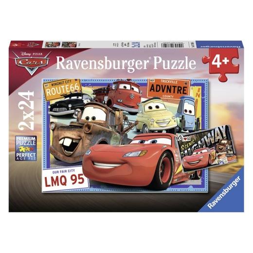 Ravensburger pussel: Cars 2x24 Bitar