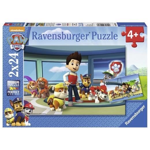 Ravensburger pussel: Paw Patrol 2x24 Bitar