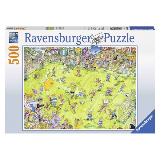 Ravensburger Pussel - At the Soccer Match 500 bitar