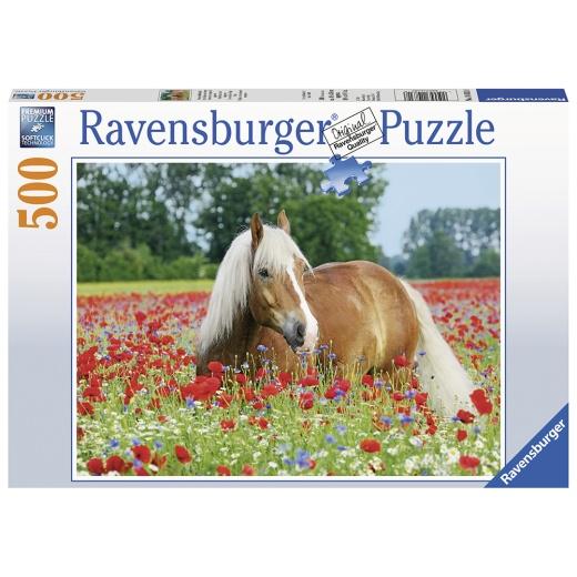 Ravensburger Pussel - AT Pferde 500 Bitar