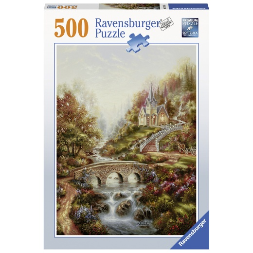 Ravensburger Pussel - The golden hour 500 Bitar