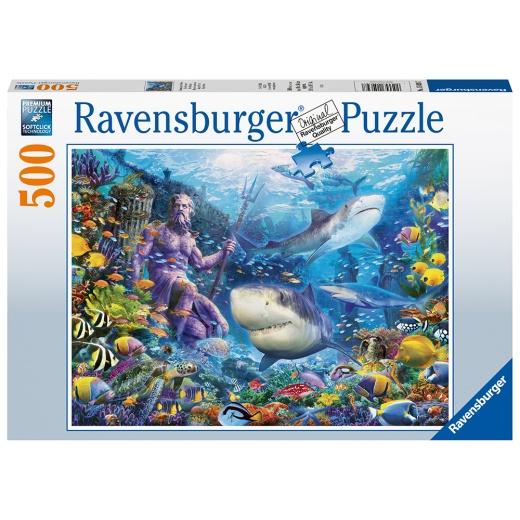 Ravensburger Pussel - King of the sea 500 Bitar