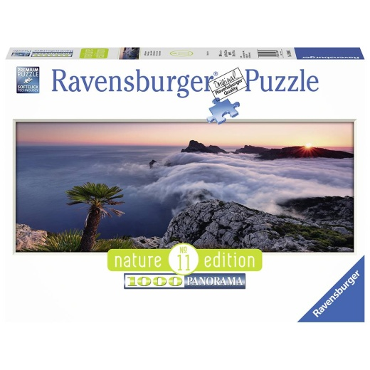 Ravensburger pussel: Panorama In a sea of Clouds 1000 bitar