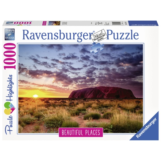 Ravensburger pussel - Ayers Rock, Australia 1000 Bitar