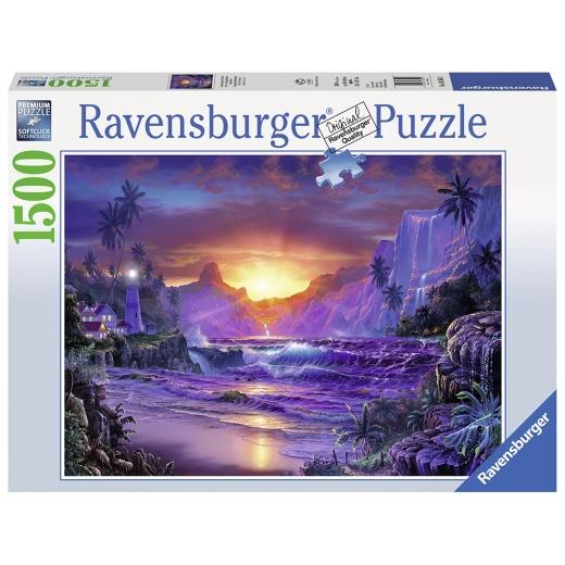 Ravensburger pussel - Sunrise in Paradise 1500 Bitar