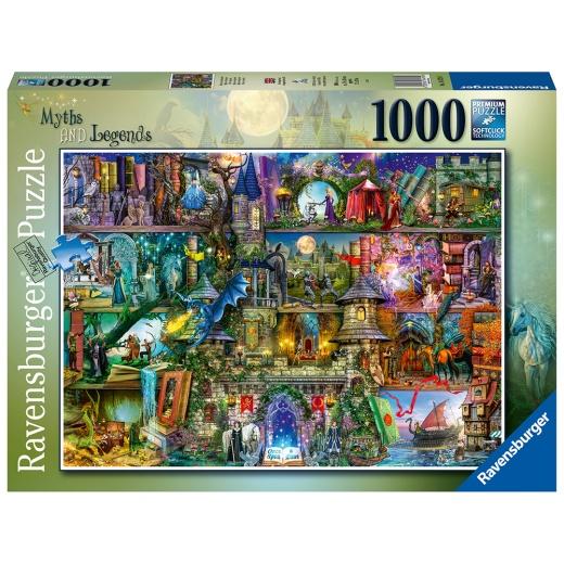 Ravensburger Pussel - Myths & Legends 1000 Bitar