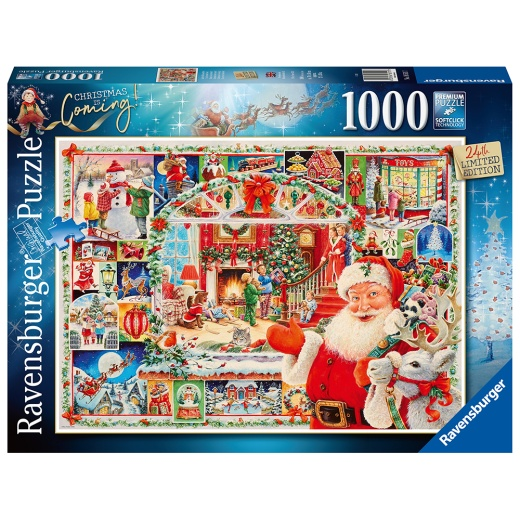 Ravensburger pussel: Christmas is coming! 1000 Bitar