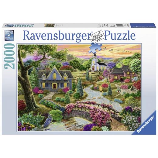 Ravensburger pussel - Enchanted Valley 2000 Bitar