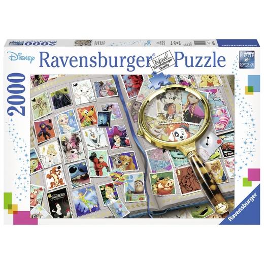 Ravensburger pussel: Disney Meine liebsten Briefmarken 2000 Bitar