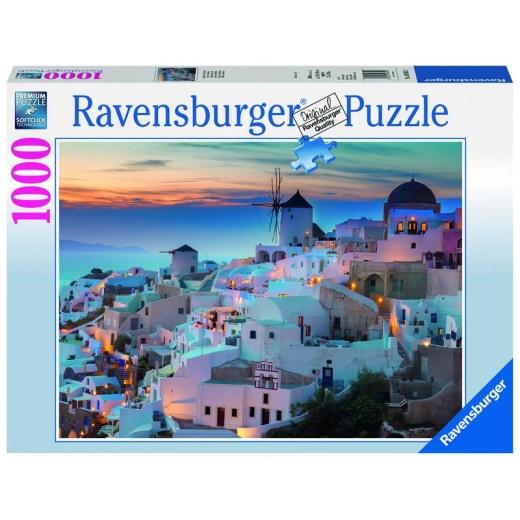Ravensburger pussel: Santori/Cinque Terre - 1000 bitar