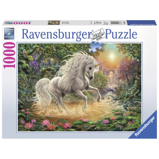 Ravensburger pussel - Mystical Unicorn 1000 Bitar