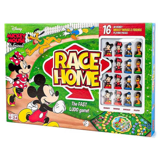 Mickey Mouse & Friends Race Home