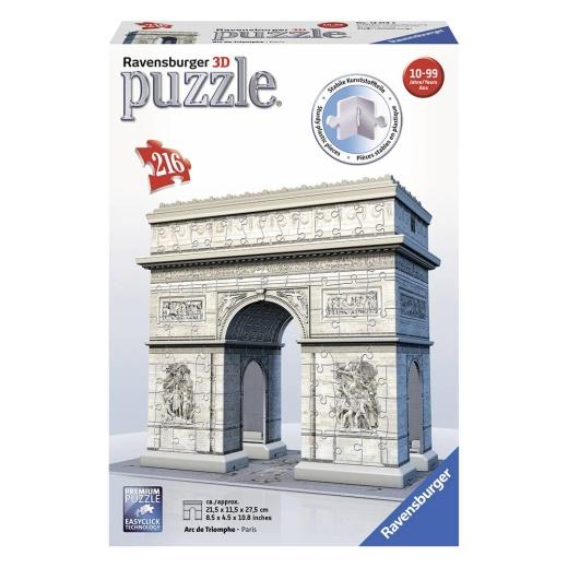 Ravensburger 3D Pussel - Arc de Triomphe - 216 Bitar