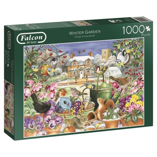 Jumbo Pussel - Winter Garden 1000 Bitar