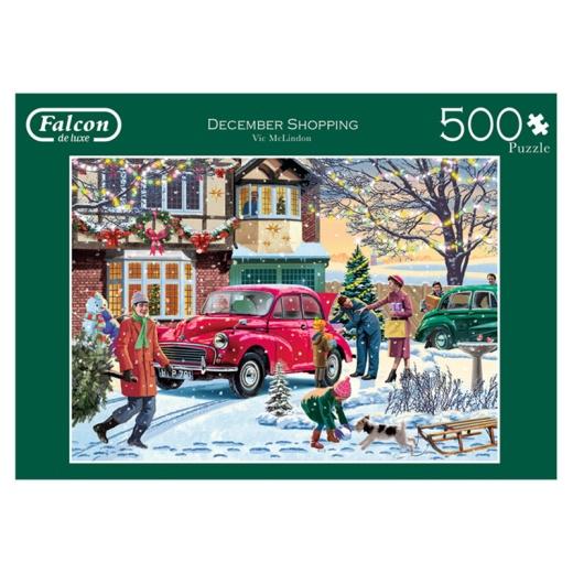Jumbo Pussel - December shopping 500 Bitar
