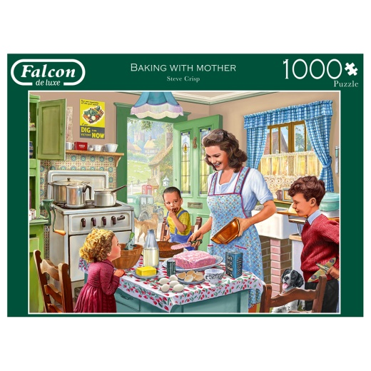 Jumbo Pussel - Baking with mother 1000 Bitar
