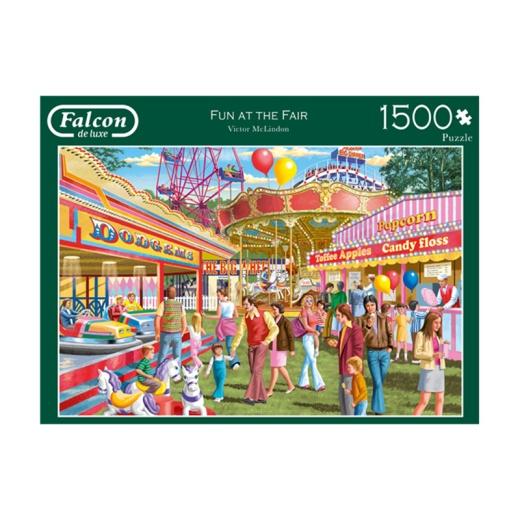 Jumbo Pussel - Fun at the fair 1500 Bitar