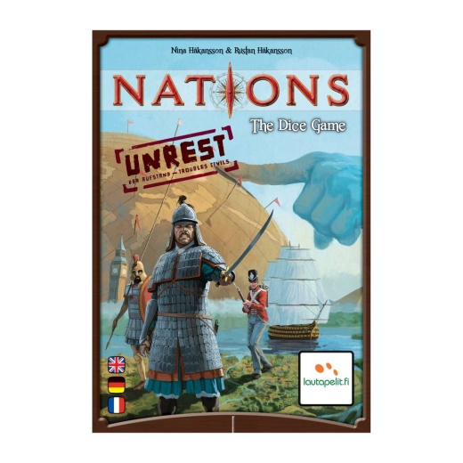 Nations: The Dice Game - Unrest (Exp.)