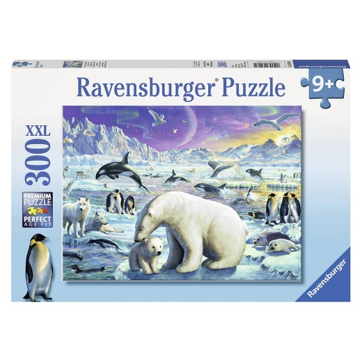Ravensburger pussel: Polar Animals Gathering 300 Bitar