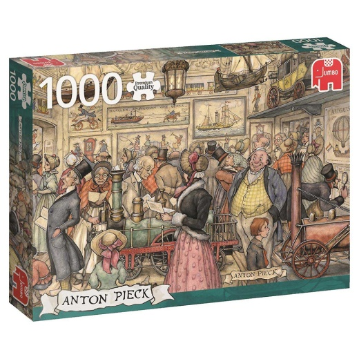 Jumbo Pussel - The exposition 1000 Bitar