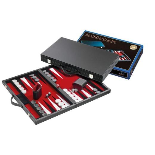 Backgammon Medium Red