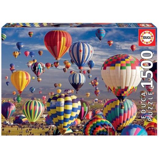 Educa Pussel: Hot Air Ballons - 1500 Bitar