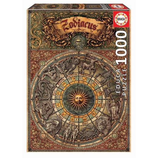 Educa Pussel: Zodiac - 1000 Bitar