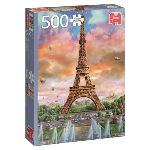 Jumbo Pussel - Eiffel Tower, Paris 500 Bitar