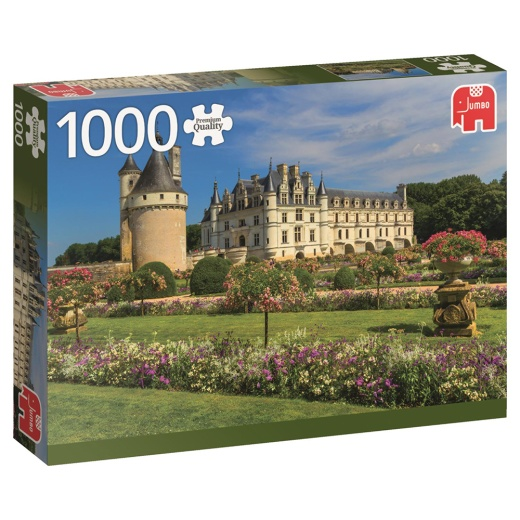 Jumbo Pussel - Castle in the Loire 1000 Bitar
