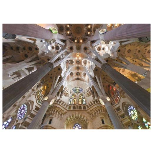Jumbo Pussel - Sagrada familia, Barcelona 1000 Bitar