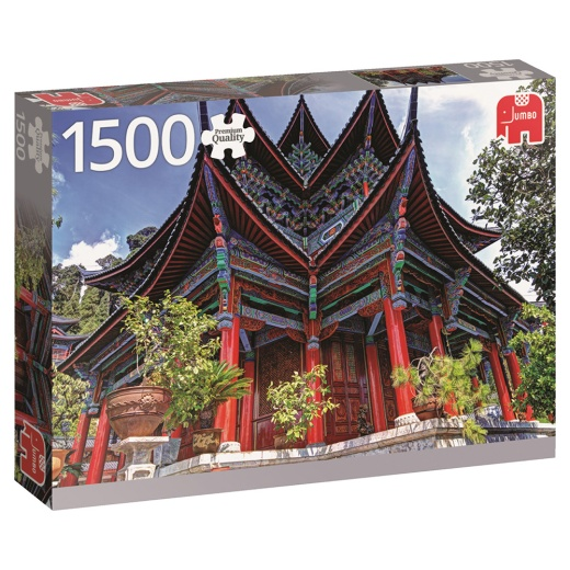 Jumbo Pussel - Chinese temple 1500 Bitar