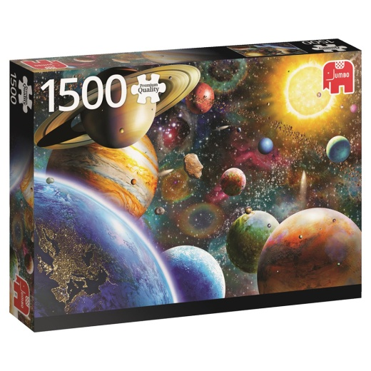 Jumbo Pussel - Planets in space 1500 Bitar