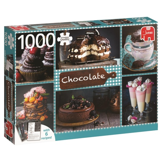 Jumbo Pussel - Chocolate 1000 Bitar