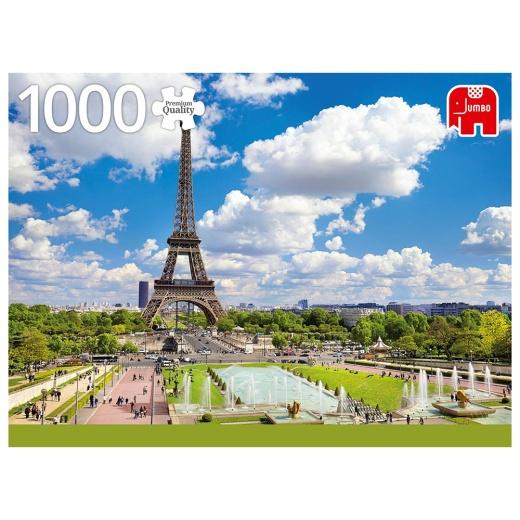 Jumbo Pussel - Eiffel tower in summer 1000 Bitar
