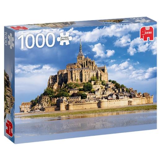 Jumbo Pussel - Mount Saint-Michel, France 1000 Bitar