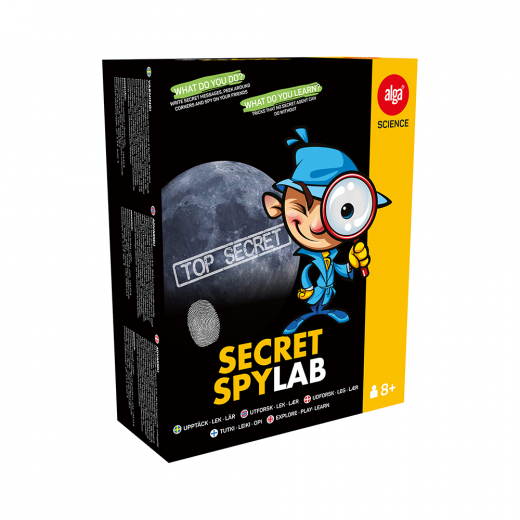 Alga Science - Secret Spylab