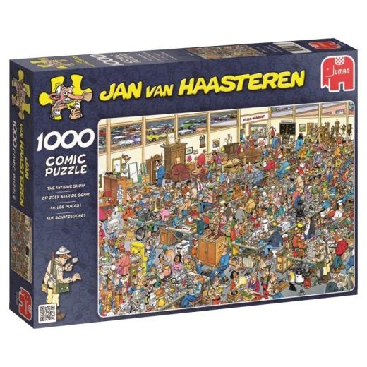 Jan van Haasteren Pussel - Antique Show - 1000 Bitar