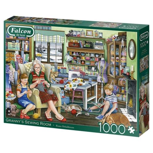 Jumbo Pussel - Granny`s Sewing Room 1000 Bitar