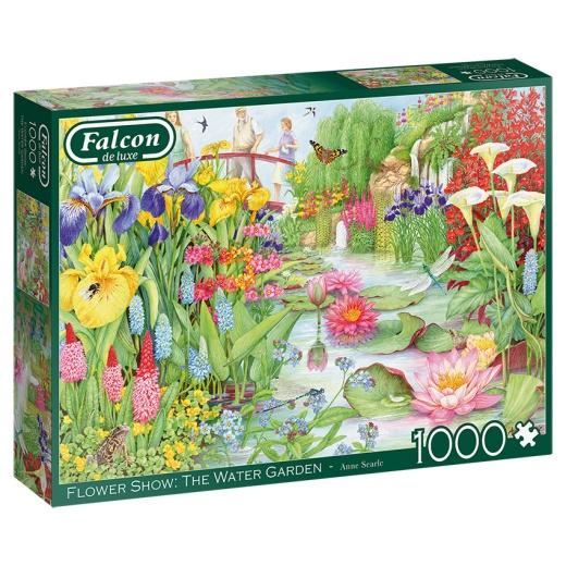Jumbo Pussel - Flower Show: The Water Garden 1000 Bitar