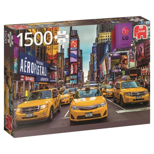 Jumbo Pussel - New York Taxi 1500 bitar