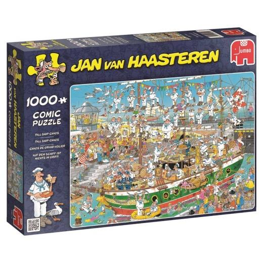 Jan van Haasteren Pussel - Tall Ship Chaos 1000 bitar
