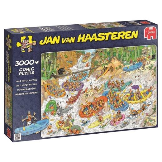 Jan van Haasteren Pussel - Waterrafting 3000 bitar