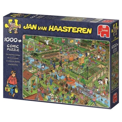 Jan van Haasteren Pussel - The Vegetable Garden 1000 bitar