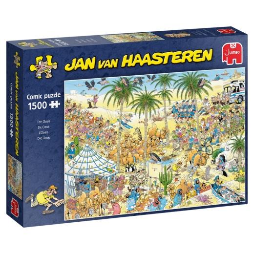 Jan van Haasteren Pussel - The Oasis 1500 bitar