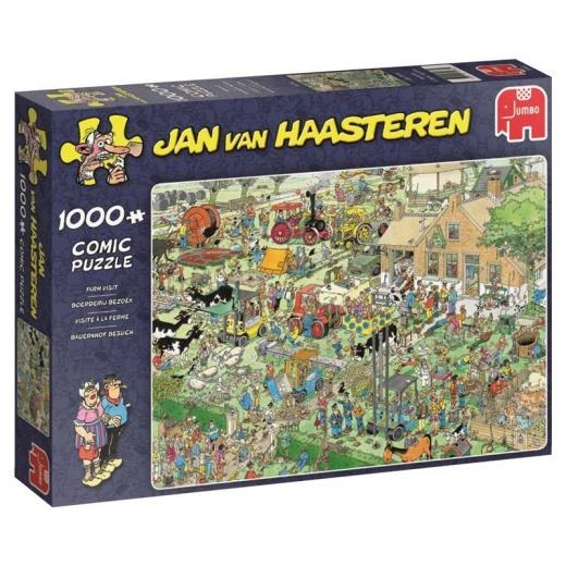 Jan van Haasteren Pussel - Farm Visit 1000 bitar