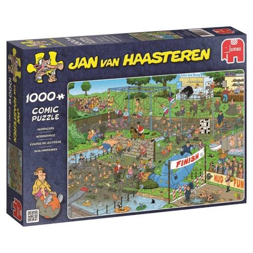 Jan van Haasteren Pussel - Mudracers 1000 bitar