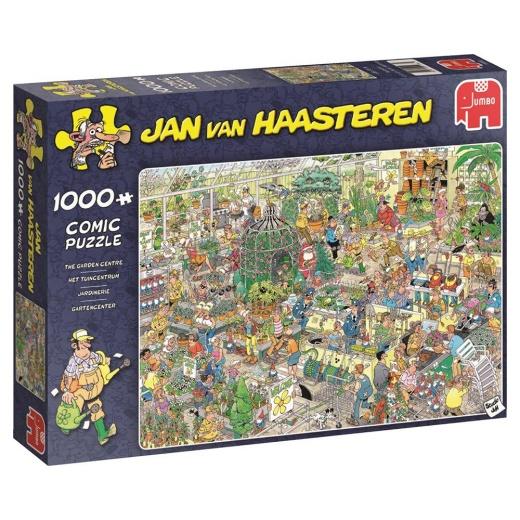 Jan van Haasteren Pussel - The Garden Centre 1000 bitar
